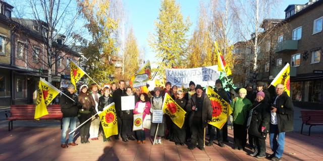 Höstmötet för Kärnkraftsfritt Bottenviken i Piteå 2014. Foto: Inger Westman.